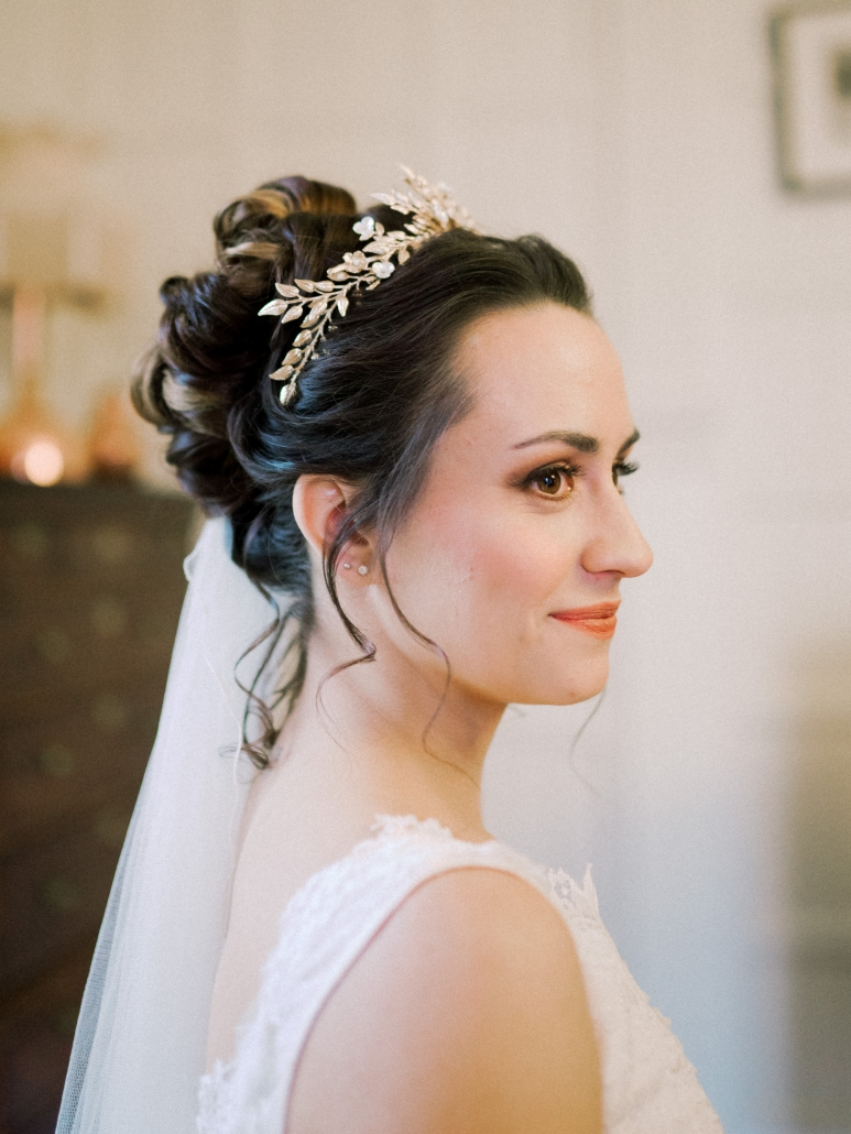 bridal makeup ledbury